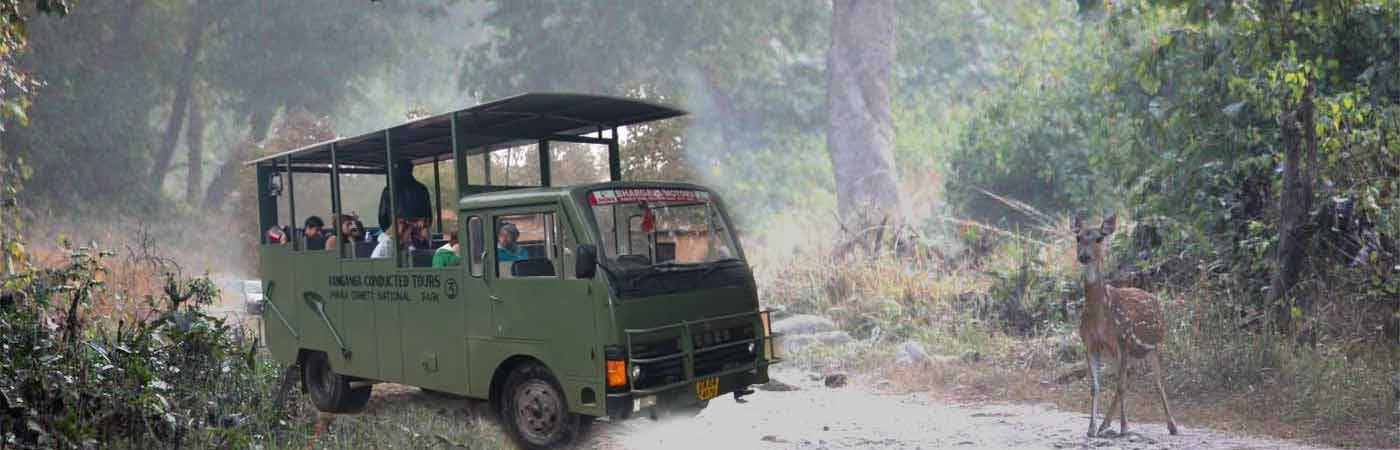 Transportation | Jim Corbett National Park Online Booking Website | India